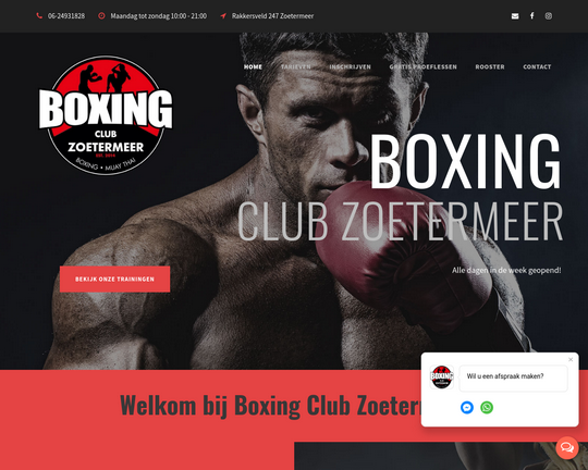 Boxing Club Zoetermeer Logo